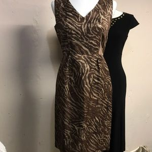 Banana Republic anima print dress size 4